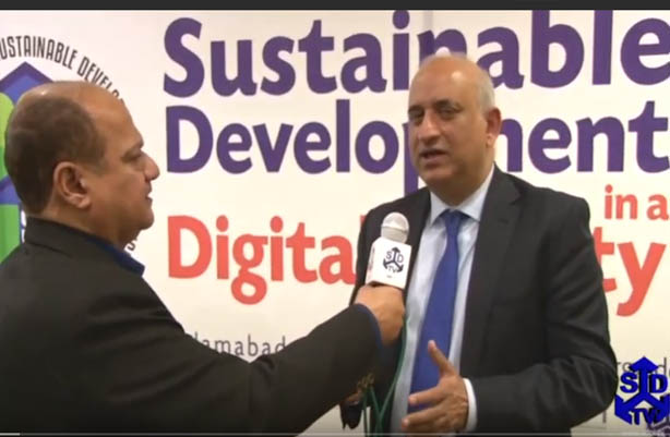 An Exclusive talk with Former Chairman Board of Investment Mr Haroon Sharif at SDPI's SD Conference