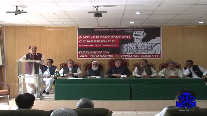 Anti Privatization Conference