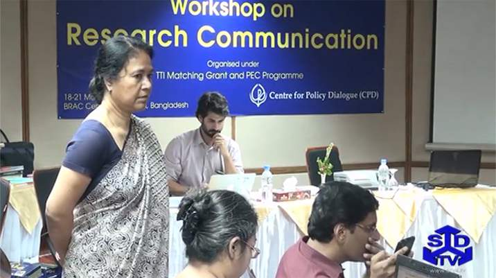 Dhaka Research Communication Workshop