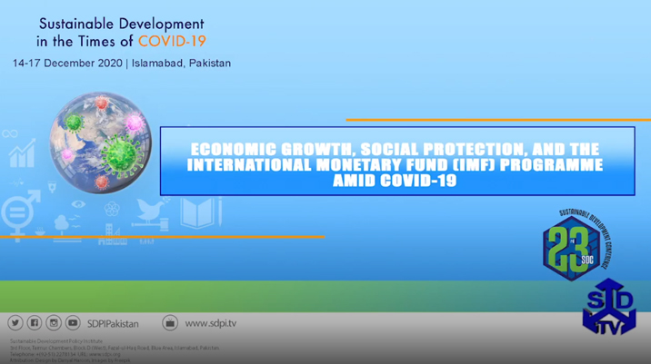 Economic Growth, Social Protection, and theInternational Monetary Fund (IMF) Programmeamid COVID-19
