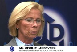 Interview with Norwegian ambassador to Pakistan