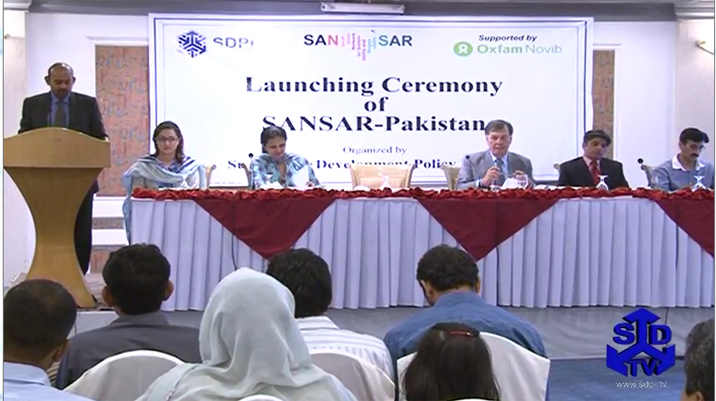 Launching Ceremony of SANSAR-Pakistan