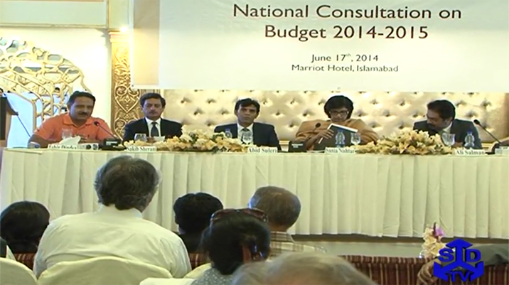 National Consultation on Budget 2014-15