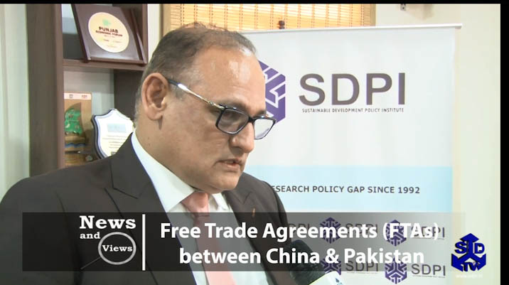 Free Trade Agreements (FTAs) between China & Pakistan-I