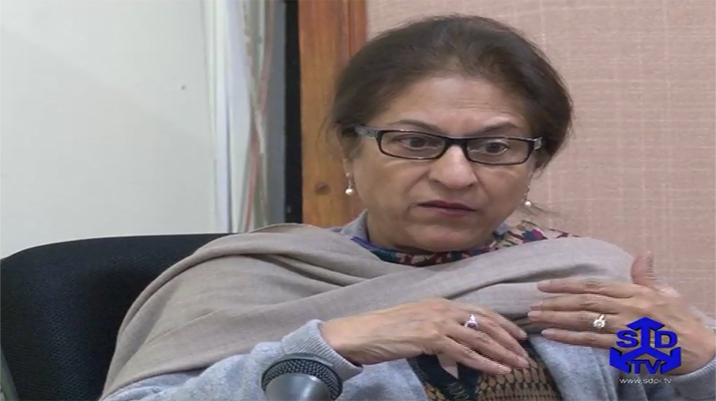 SDPI in Conversation with Asma Jahangir