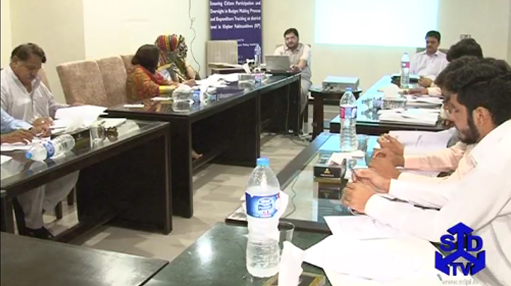 Training Workshop on Budget Making Process in Peshawar - KP