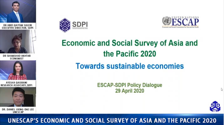 UNESCAP's Economic and Social Survey of Asia and the Pacific 2020